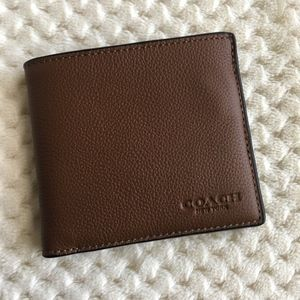 Coach Billfold Wallet New! Wallet